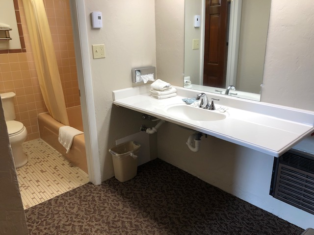 Sink, Mirror, Toilet, Bathtub